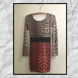 Leopard Bodycon Dress